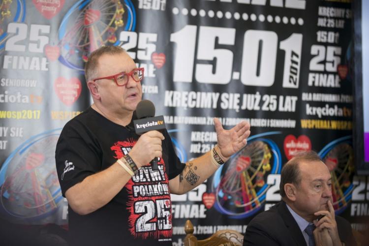 Jurek Owsiak podsumowuje przygotowania do 25. Finału WOŚP