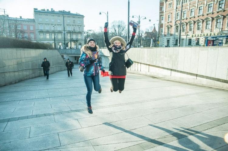 Wolontariusze w Krakowie, fot. Dominik Malik