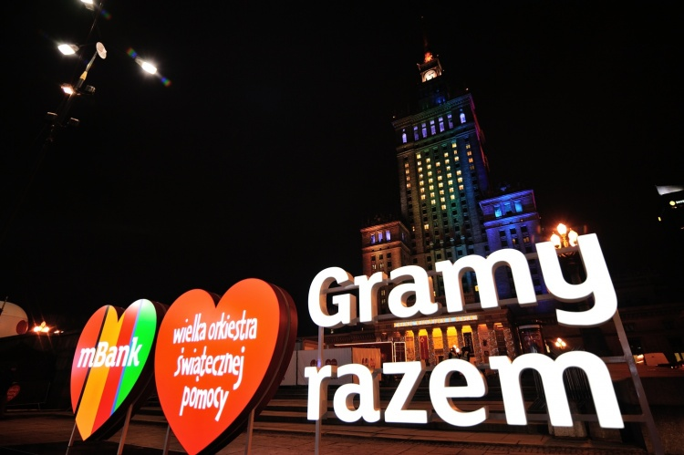 mBank na Placu Defilad podczas 26. Finału WOŚP - fot. Paweł Krupka