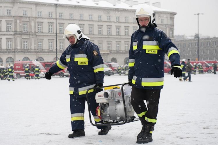 Uroczystość rozdania sprzętu zakupionego przez WOŚP w 2010 roku Fot. Ł. Widziszowski