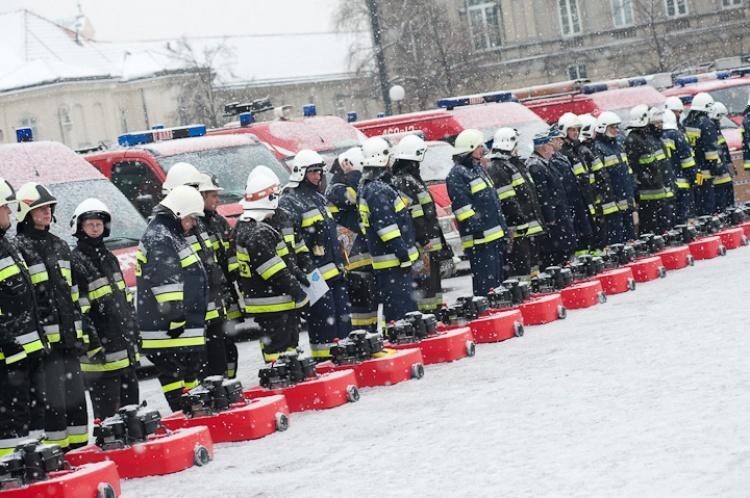 Uroczystość przekazania sprzętu zakupionego przez WOŚP w 2010 roku Fot. Ł. Widziszowski