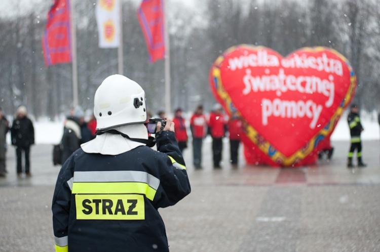 Uroczystość rozdania sprzętu zakupionego przez WOŚP w 2010 roku, fot. Ł. Widziszowski