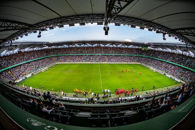 Stadion Legii podczas zeszłorocznego Wielkiego Meczu fot. Dariusz Breś