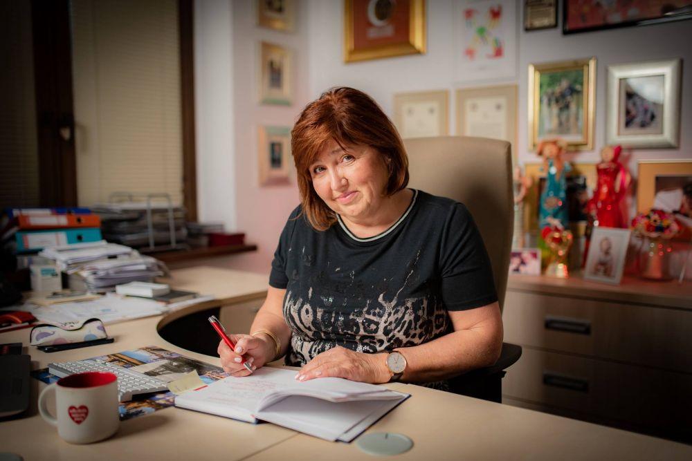 Lidia Niedźwiedzka-Owsiak, fot. Łukasz Widziszowski