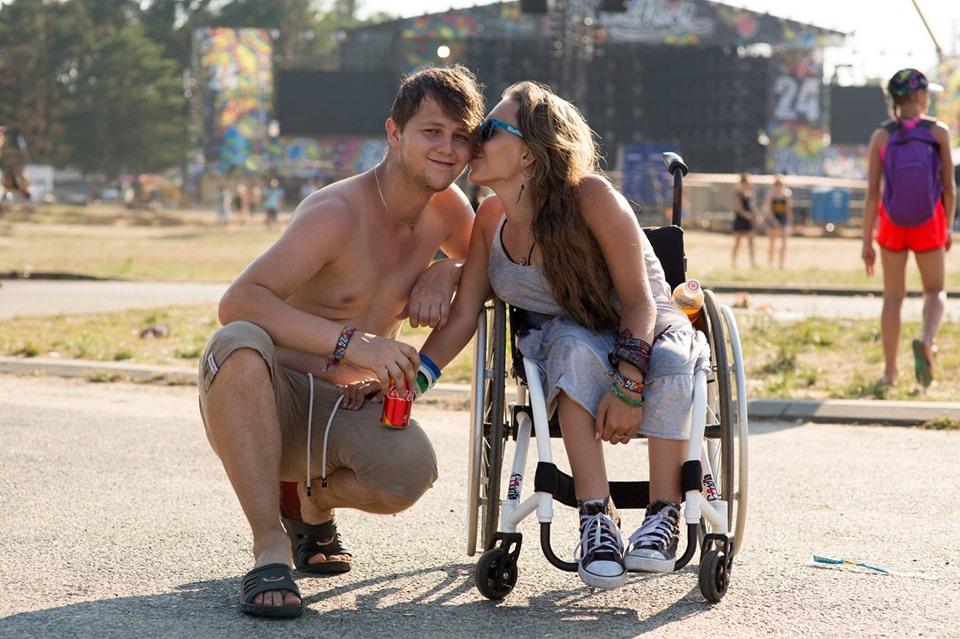 Na festiwalu uśmiech to podstawa fot. Lucyna Lewandowska