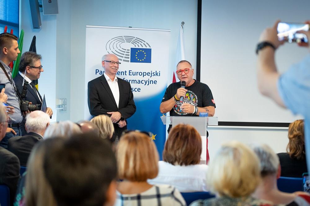 Janusz Lewandowski i Jurek Owsiak, fot. dariuszbres.pl