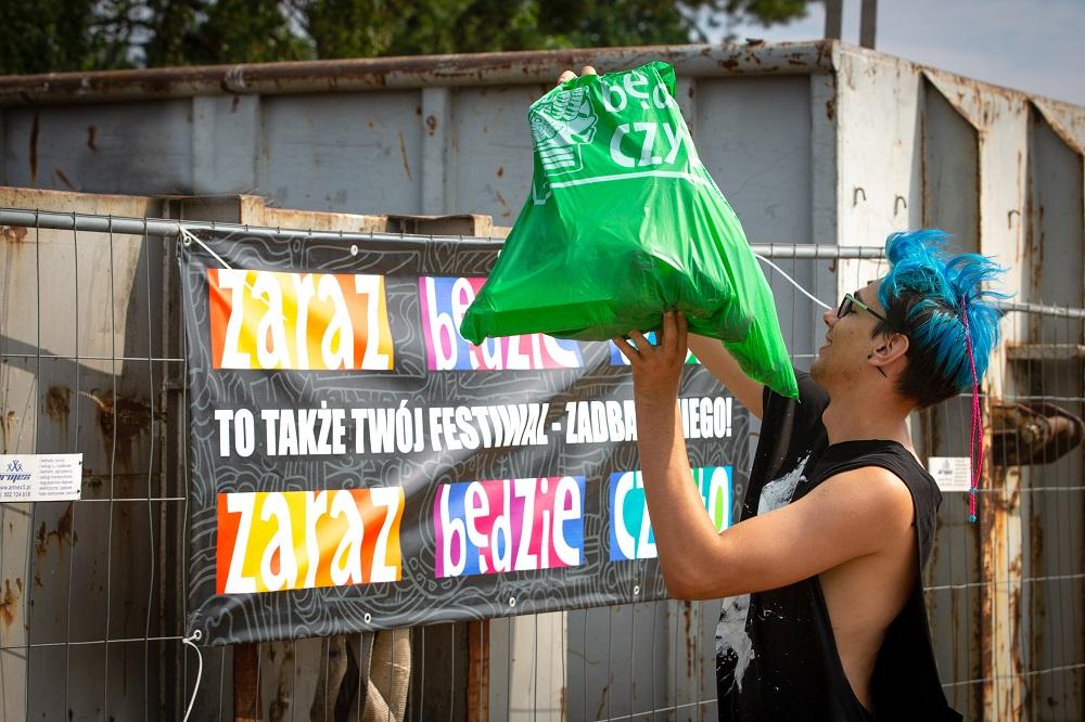 Zaraz Będzie Czysto na 25. Pol'ans'Rock Festival, fot. Lucyna Lewandowska
