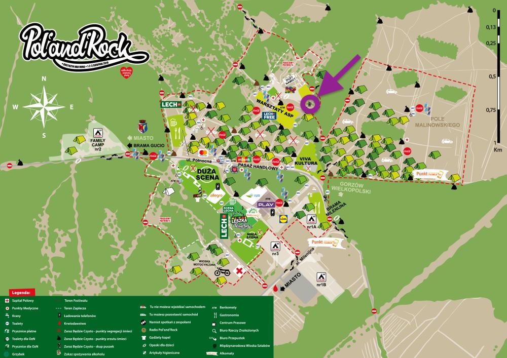 Odszukaj na mapie Międzynarodową Wioskę Sztabów i odwiedź ich jeśli masz możliwość!