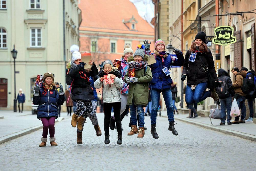 Wolontariusze podczas 26. Finału WOŚP - fot. Igor Kohutnicki