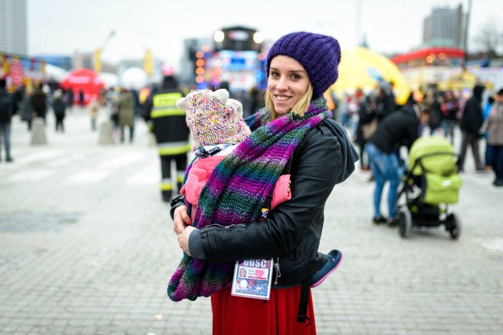 Marta z córką Zosią, fot. Damian Mekal