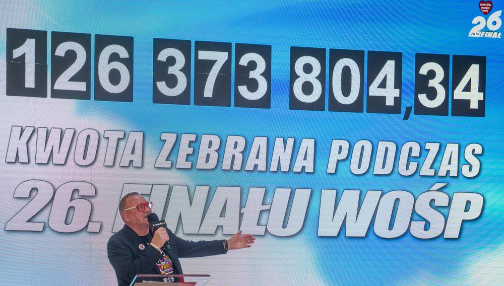 Wynik 26. Finału, fot. Łukasz Widziszowski