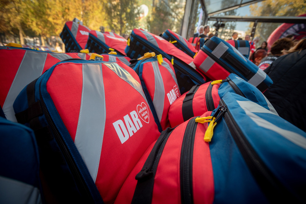 Equipment for Volunteer Mountain Search and Rescue Teams. photo: Ł. Widziszowski