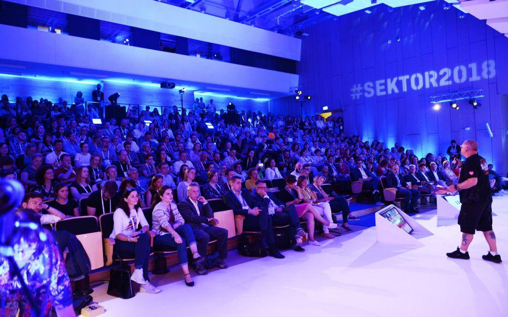 Jurek Owsiak na Festiwalu Sektor 3.0