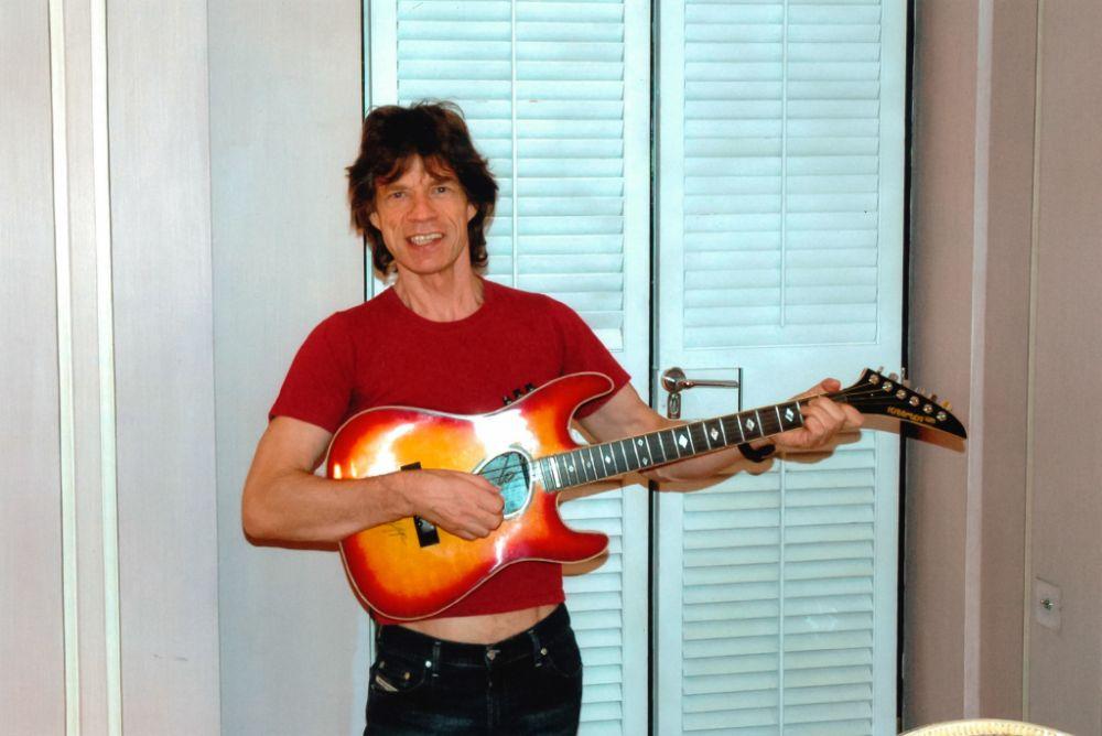 Gitara Micka Jaggera