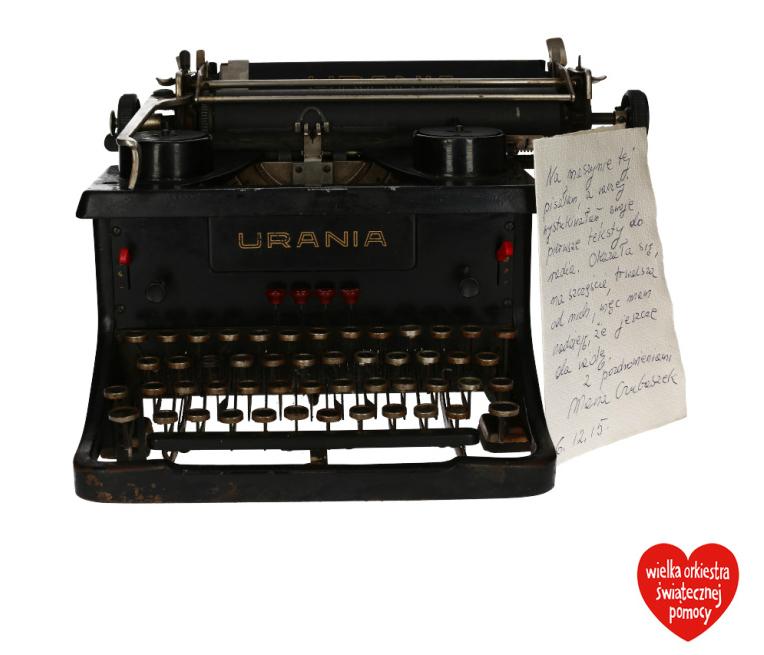Maszyna do pisania Marii Czubaszek