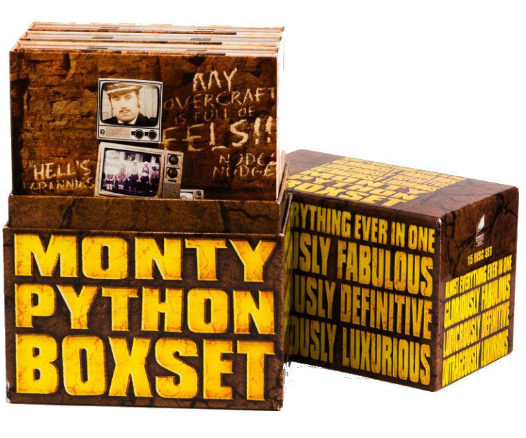 """Zestaw płyt DVD """"Monty Python Box Set"""""""