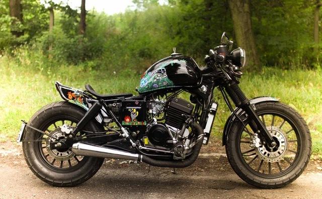 Motocykl Junak M11 od Ostrego