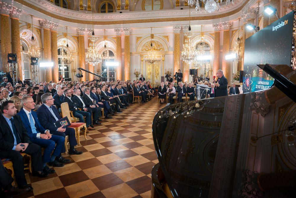 Uroczysta konferencję zaszczyciło obecnością wielu znamienitych gości, fot. Łukasz Widziszowski