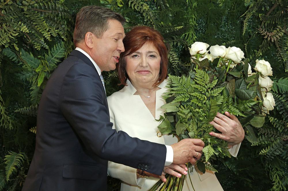 Lidia Niedźwiedzka-Owsiak Kobietą Roku 2017 fot. AKPA