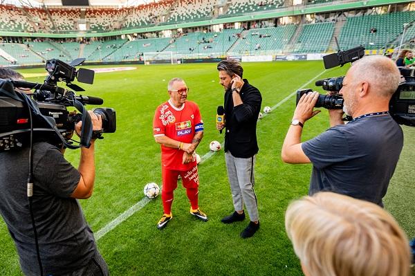 Wielki Mecz WOŚP vs. TVN - fot. Dariusz Breś