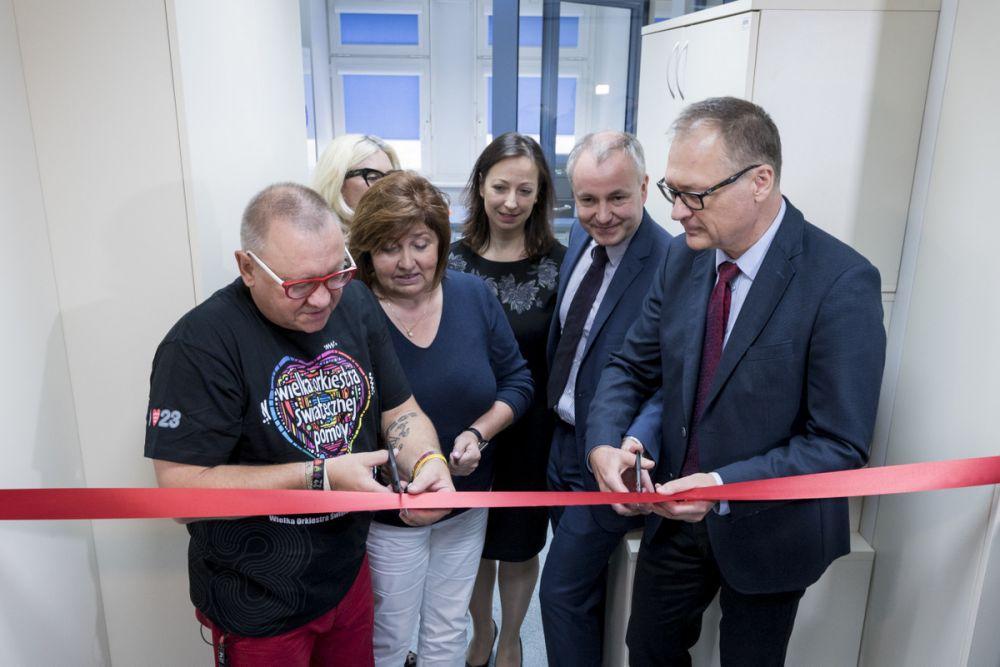 Otwarcie Laboratorium ONCOLAB w 2016 roku, fot. Łukasz Widziszowski
