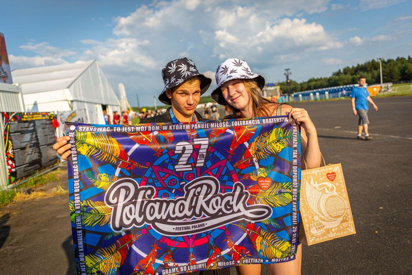 Uczestnicy 27. Pol'and'Rock, fot. Michał Kwaśniewski