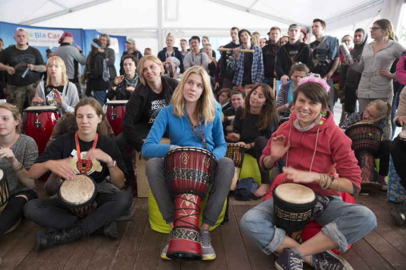 Wioska BlaBlaCar na Przystanku Woodstock, fot. Lucyna Lewandowska