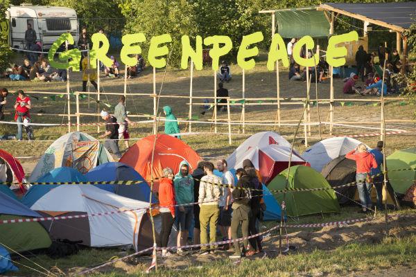 Wioska Greenpeace na Przystanku Woodstock, fot. Lucyna Lewandowska