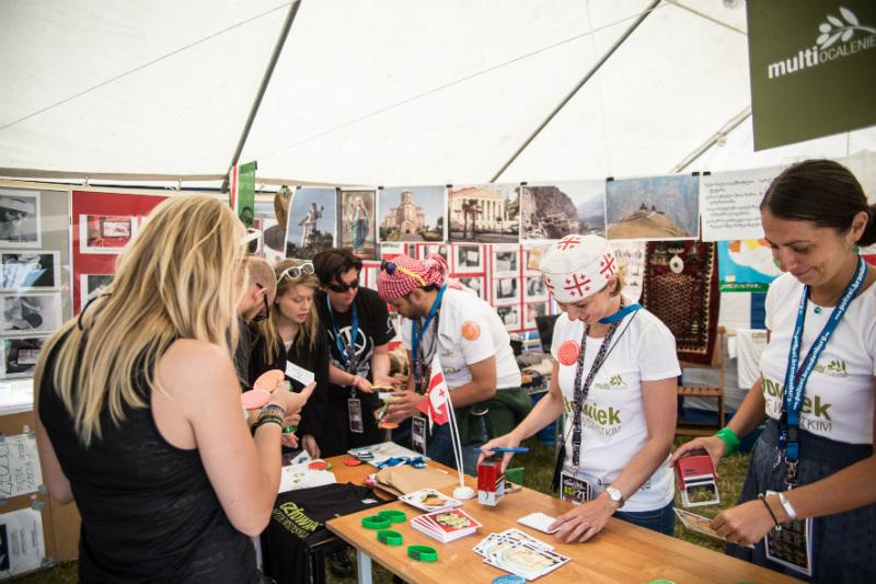 Fundacja Multiocalenie na Przystanku Woodstock, fot. Paweł Owczarczyk