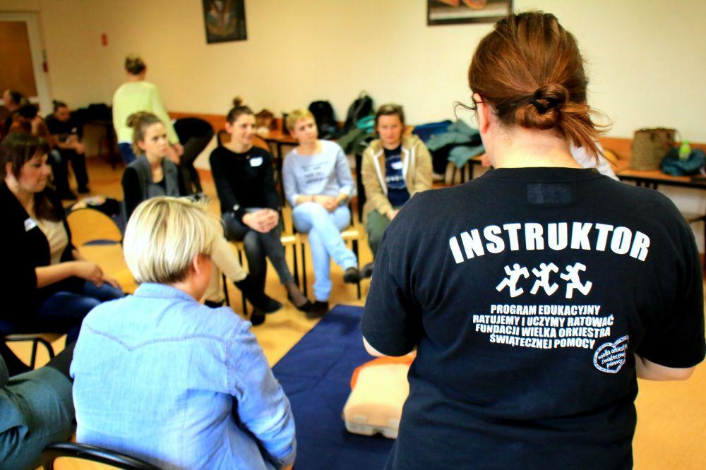 Szkolenie dla nauczycieli, fot. Katarzyna Zygnerska