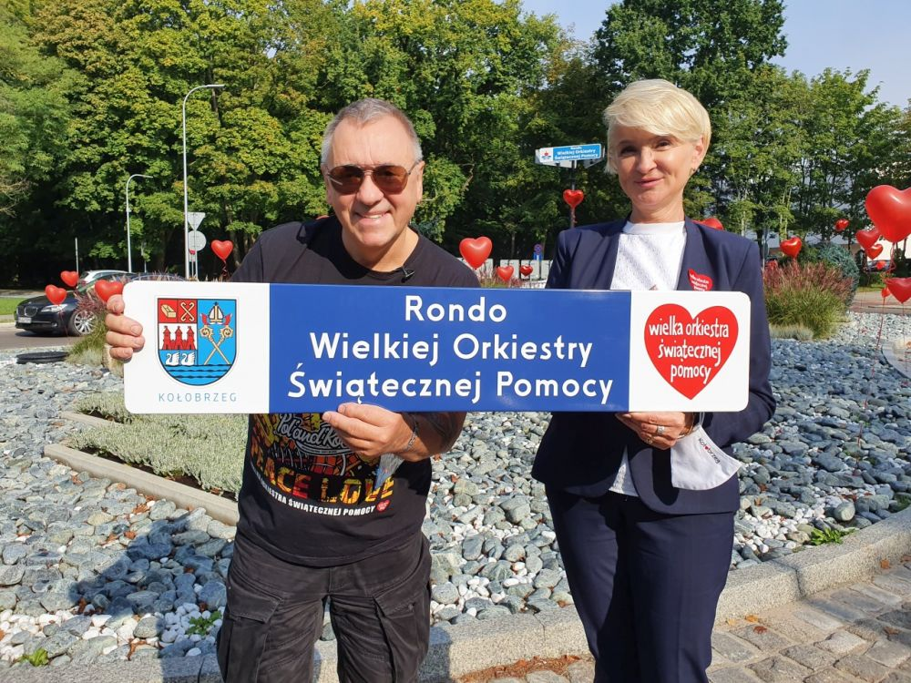 Rondo Wielkiej Orkiestry Świątecznej Pomocy w Kołobrzegu
