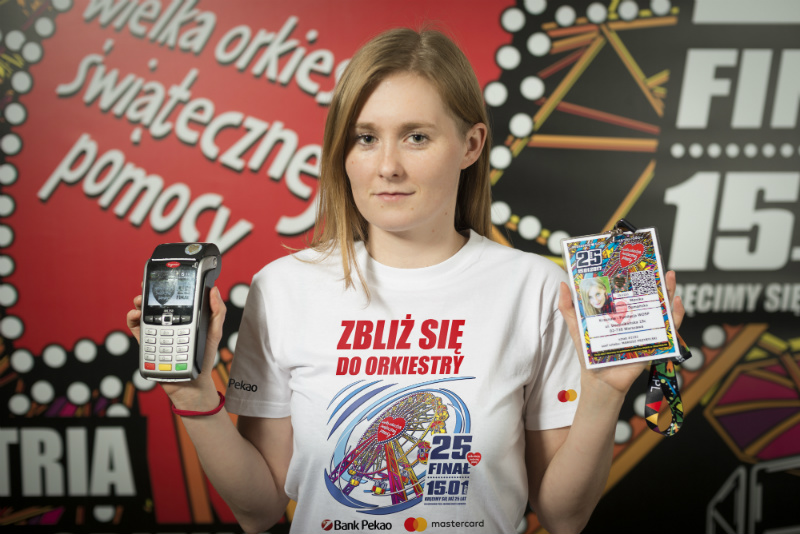 Wolontariusze kwestujący z terminalami będą mieć specjalne koszulki