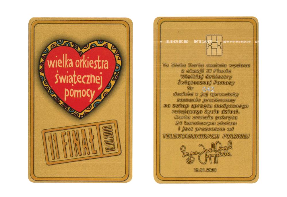 Złota Karta - 11. Finał WOŚP