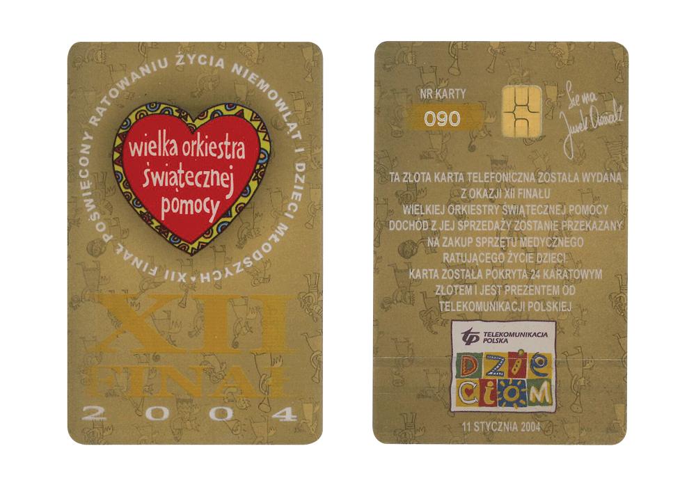 Złota Karta - 12. Finał WOŚP