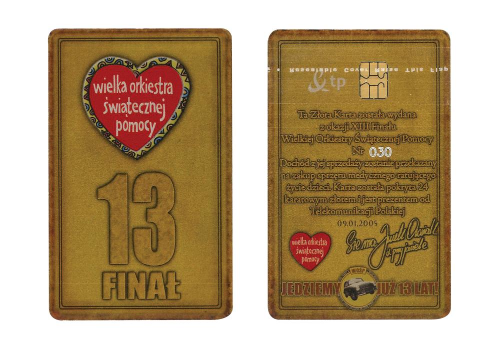 Złota Karta - 13. Finał WOŚP