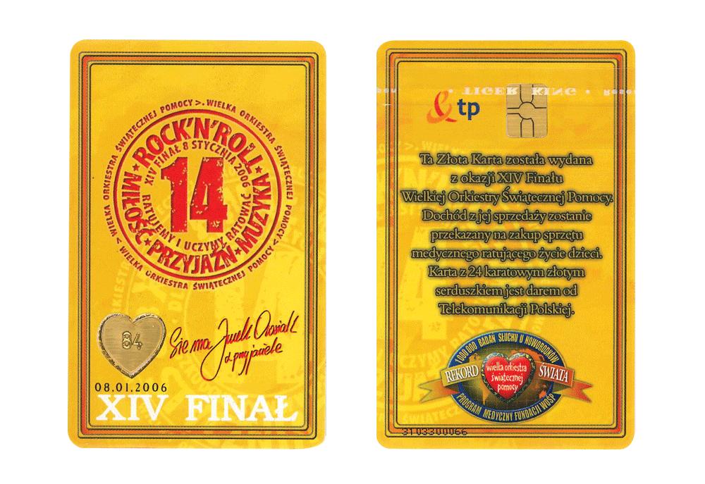 Złota Karta - 14. Finał WOŚP