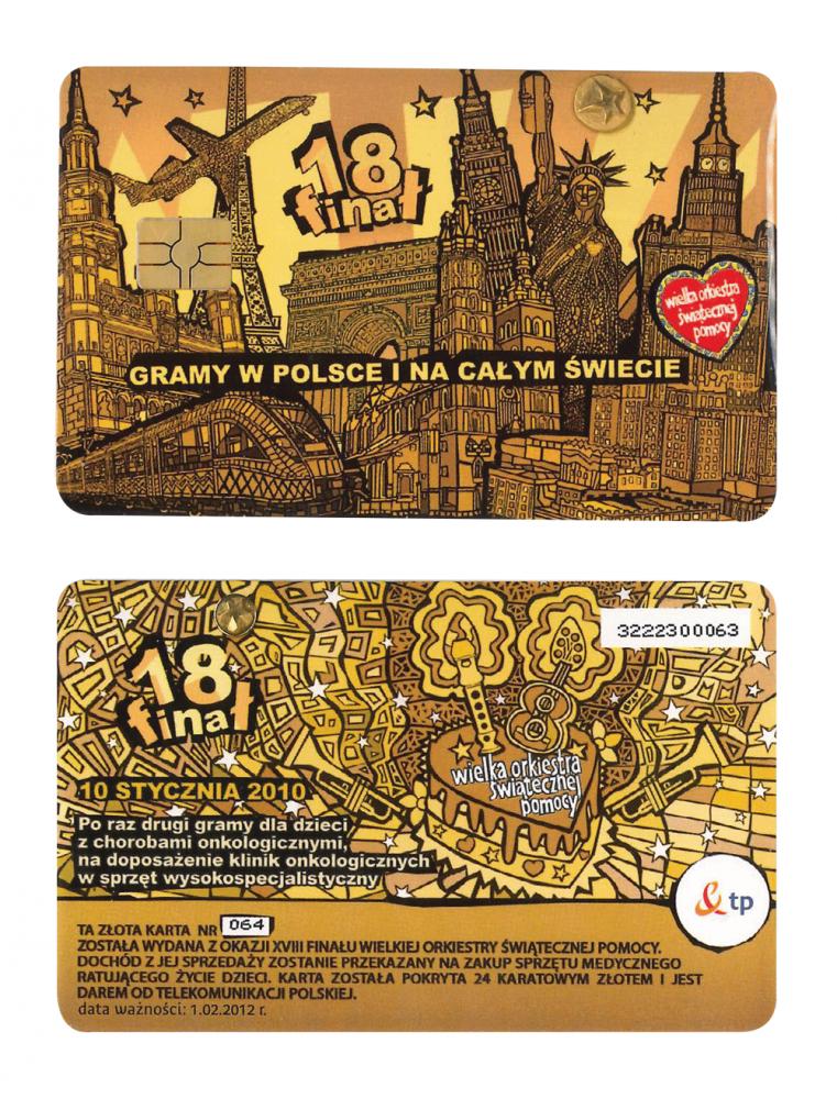 Złota Karta - 18. Finał WOŚP