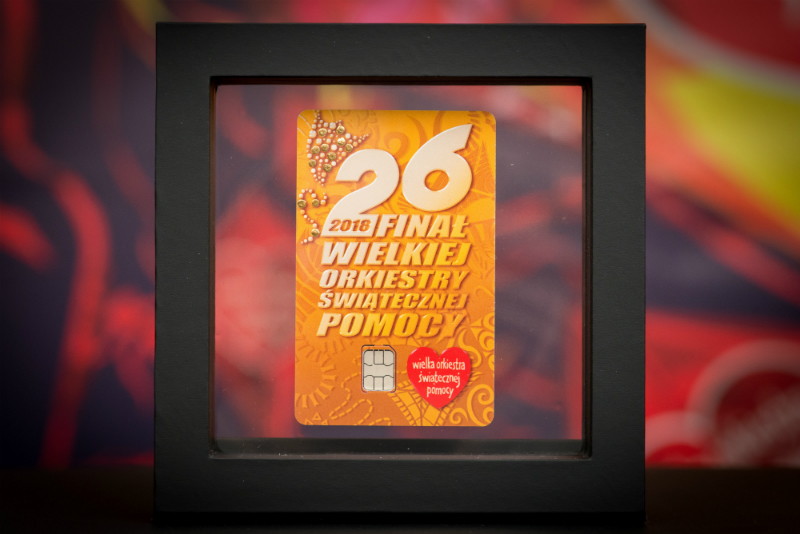 Golden Card issued for the 26th Grand Finale Łukasz Widziszowski