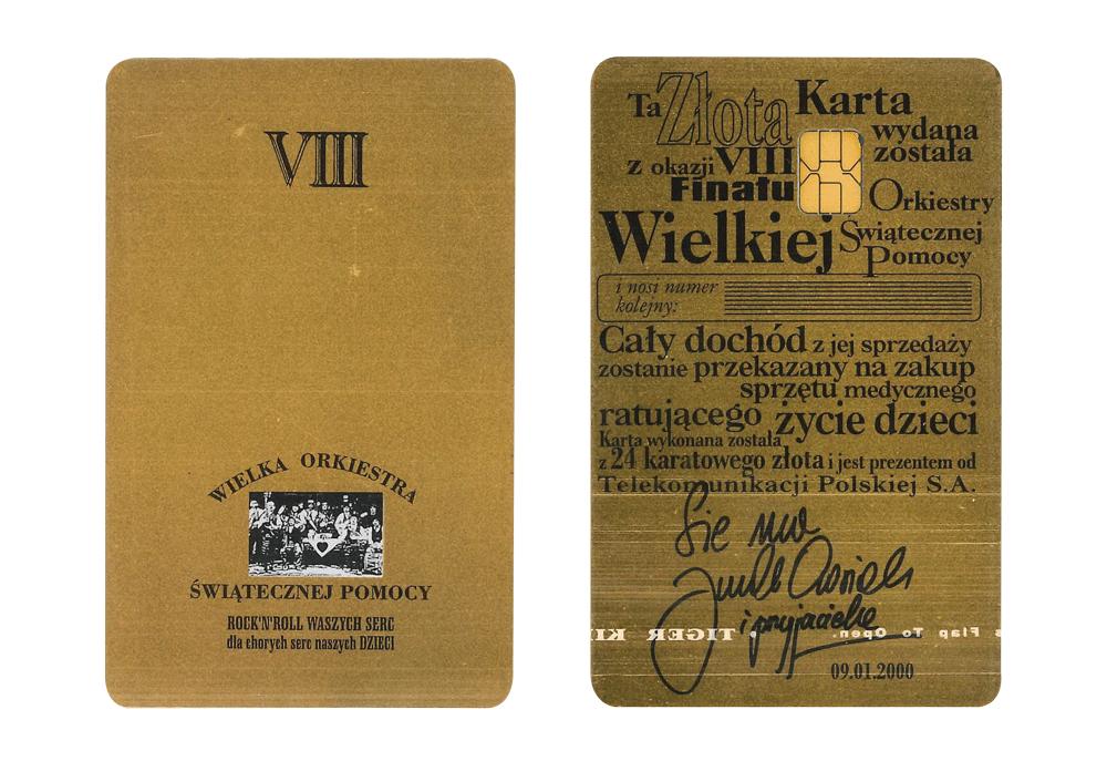 Złota Karta - 8. Finał WOŚP