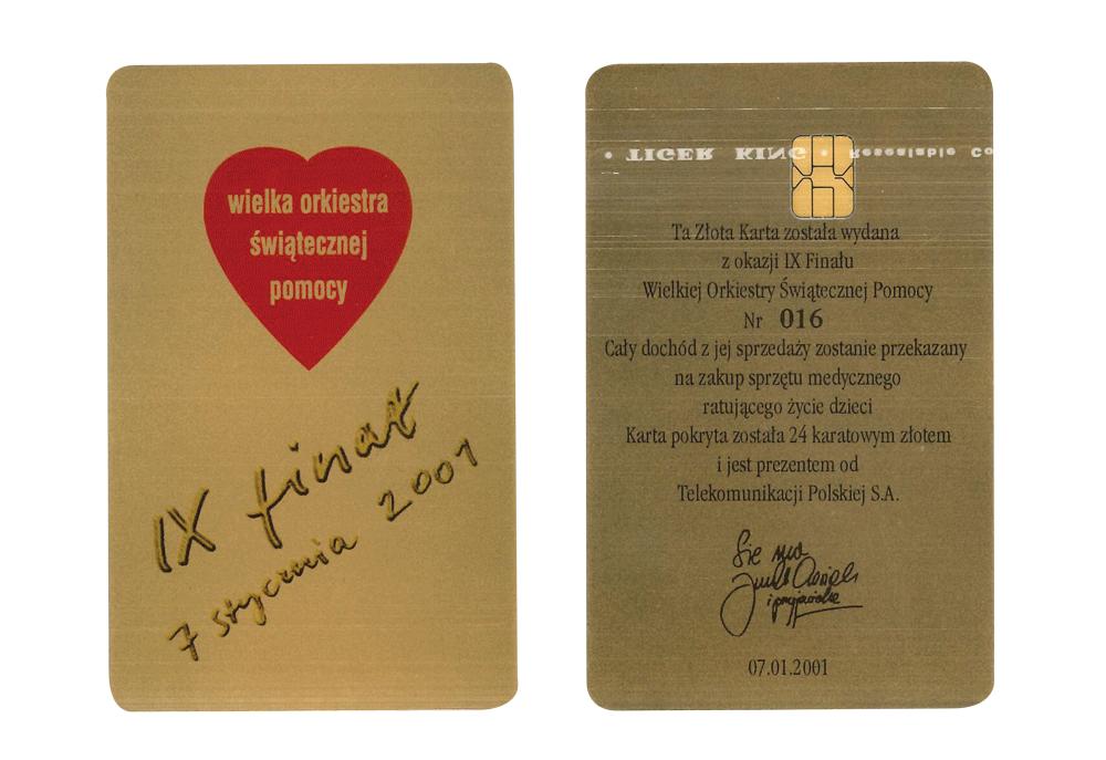 Złota Karta - 9. Finał WOŚP