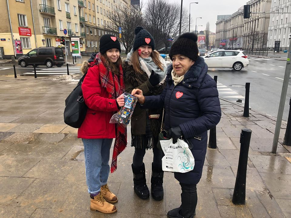 nasze bohaterki na ulicach Warszawy