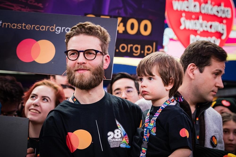Mastercard podczas 28. Finału WOŚP, fot. Marcin Michoń