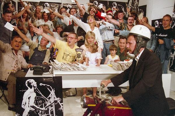 Zdjęcie z I. Finału WOŚP w 1993 roku